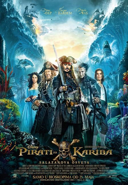 """""""Pirati sa Kariba – Salazarova osveta"""" DANAS premijerno!"""