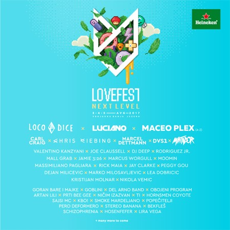 Lovefest objavio line up Live Stage-a