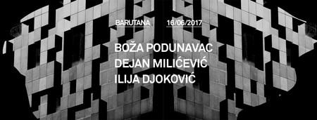 Podunavac, Milićević i Djoković u Barutani!