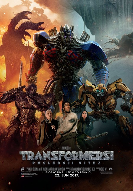 "Premijera filma ""Transformersi – Poslednji vitez"" 21. juna"