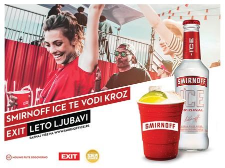 Smirnoff Ice vas vodi na EXIT Leto Ljubavi