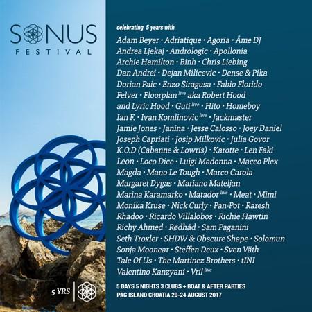 Sonus objavio nove zvezde festivala!