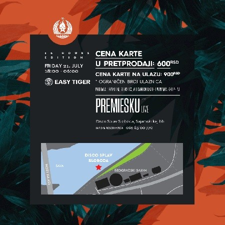 Easy Tiger presents PREMIESKU (Live)
