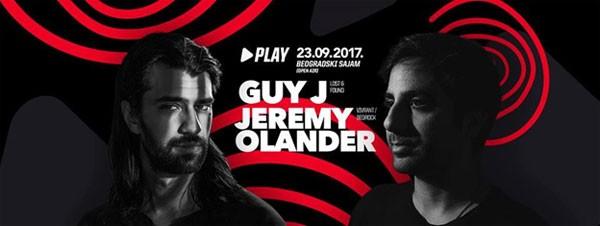 Guy J i Jeremy Olander u Beogradu!