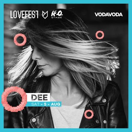 Lovefest: Objavljen line up VODAVODA H2O Stage-a