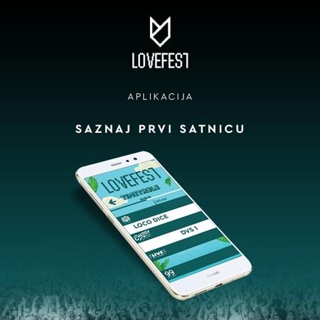 Lovefest lansirao novu aplikaciju