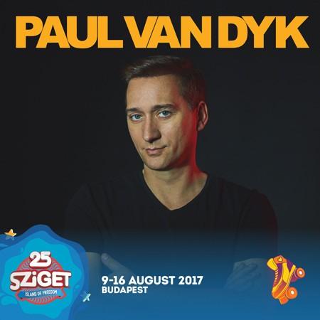 PAUL VAN DYK na Sziget festivalu