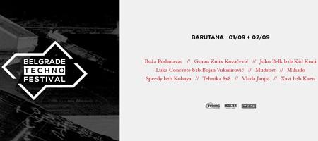 Belgrade Techno Festival objavio ceo lineup!