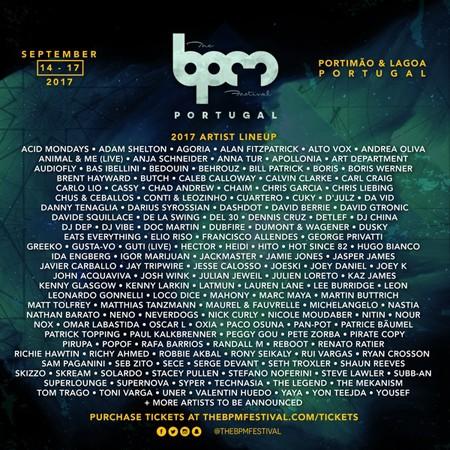 BPM Festival: Portugal objavljuje drugu etapu izvođača