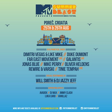 MTV Summerblast 2017