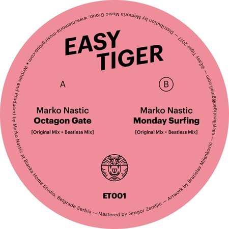 "Marko Nastić lansirao vinyl only label ""Easy Tiger"""