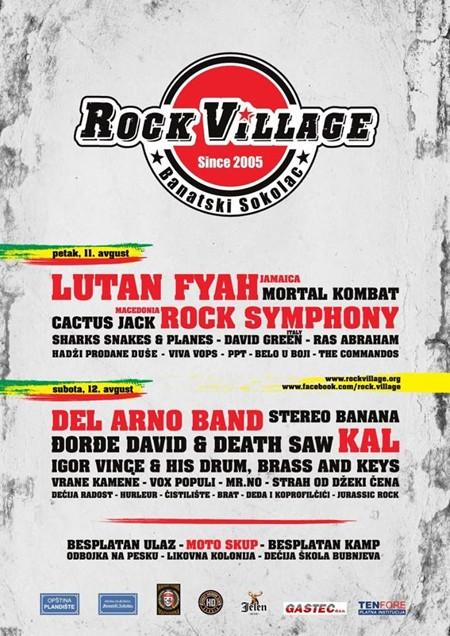 Sutra počinje tradicionalni ROCK VILLAGE festival