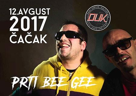 Prti Bee Gee - Dani urbane kulture 2017, Čačak