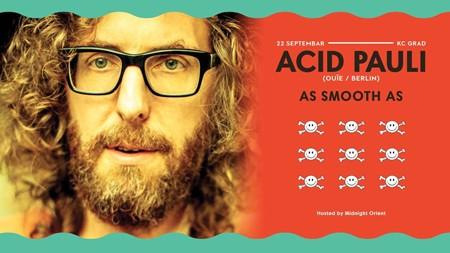 Večeras Acid Pauli (Ouïe | Berlin) u KC Gradu