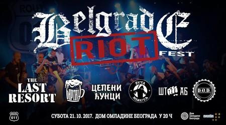 """Veče sirove punk energije """"Belgrade Riot"""""""