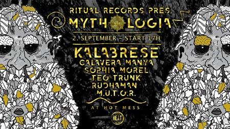 Kalabrese na promociji Ritual Records etikete