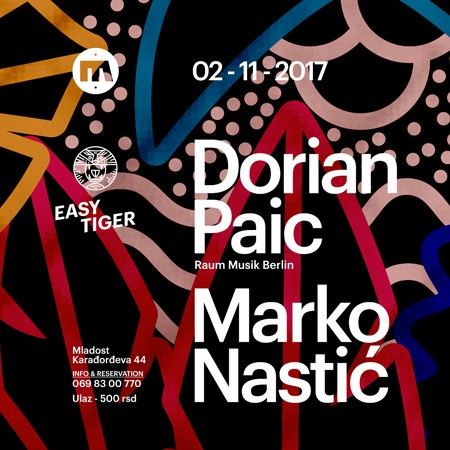 Easy Tiger presents Dorian Paic
