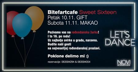 Bitefartcafe ovog vikenda slavi 16. godina