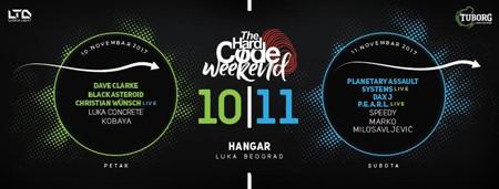 Hard Code Weekend: Još samo danas i sutra karte po promo ceni!