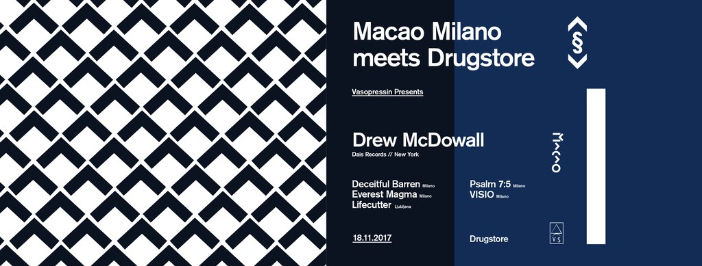 Macao Milano meets Drugstore