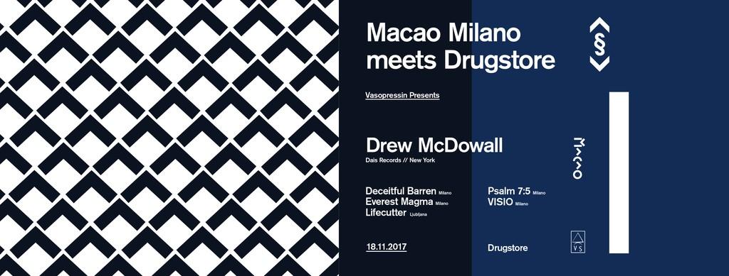 Macao Milano meets Drugstore