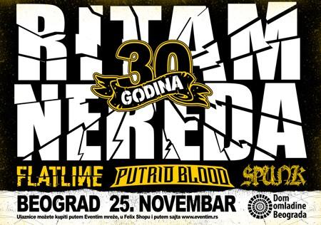 Veliko interesovanje za koncert RITAM NEREDA u Beogradu