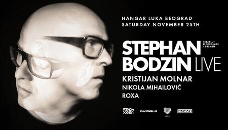 Stephan Bodzin prvi put u Beogradu!