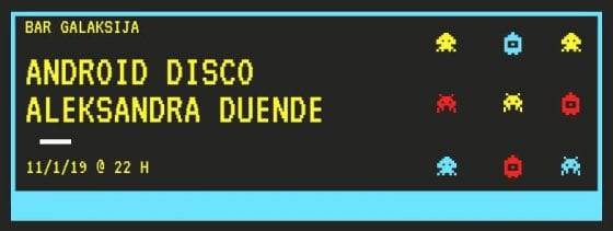 Aleksandra Duende b2b Android Disco – CLUBBING.RS