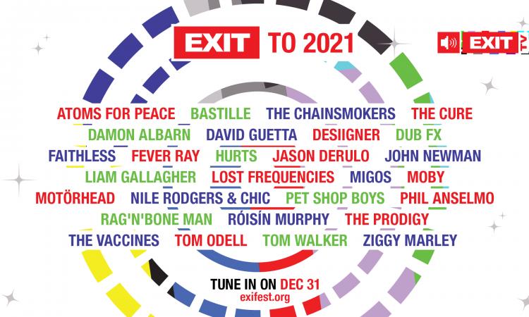 """Novogodišnji specijal """"EXIT to 2021"""""""